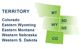 Beacon Communications territory includes Colorado, Eastern Wyoming, Eastern Montana, Western Nebraska, and Western S. Dakota